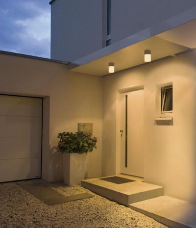 Luminis világítás - bejárat ötlet, modern stílusban