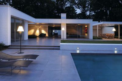 Világítás a teraszon - erkély / terasz ötlet, modern stílusban