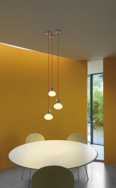 Sárga falak - belső továbbiak ötlet, modern stílusban