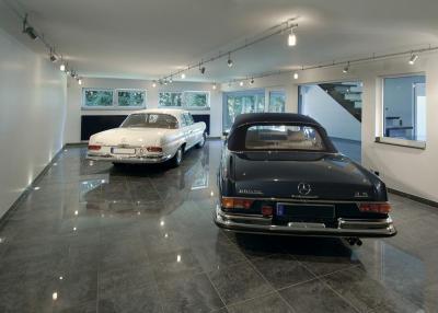 Modern garázs - garázs ötlet, modern stílusban