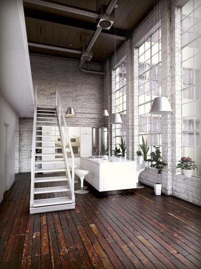 Óriási ablakok37 - konyha / étkező ötlet, modern stílusban