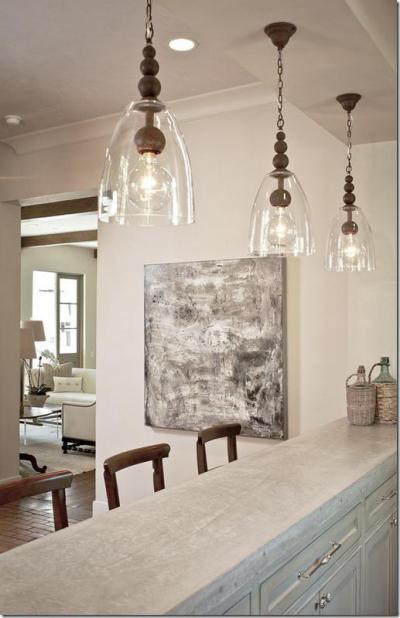 Világítás a házban2 - konyha / étkező ötlet, rusztikus stílusban