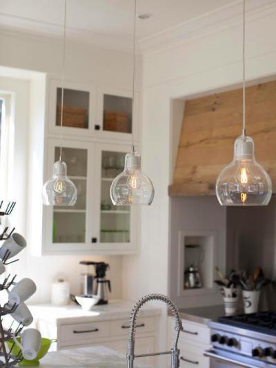 Világítás a házban31 - konyha / étkező ötlet, modern stílusban