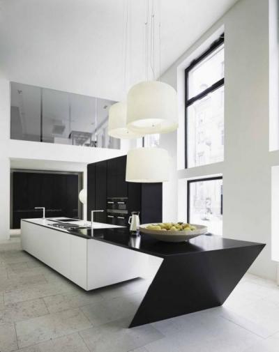 Férfias vonalvezetés - konyha / étkező ötlet, modern stílusban