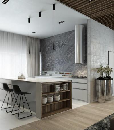 Modern és elegáns - konyha / étkező ötlet, modern stílusban