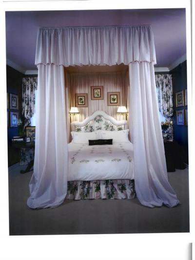 Ágy baldachinnal13 - háló ötlet, klasszikus stílusban