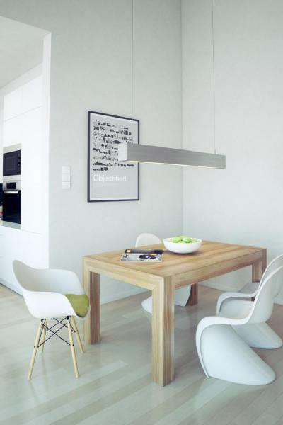 Skandináv hangulatban - konyha / étkező ötlet, modern stílusban