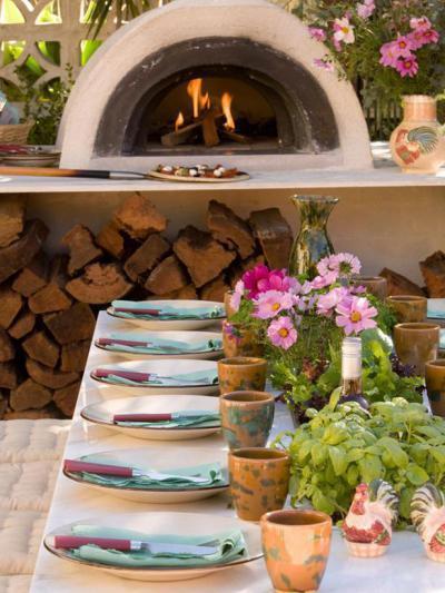 Kerti sütő az udvaron2 - kert / udvar ötlet, modern stílusban