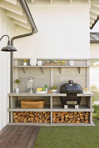 Kerti sütő az udvaron18 - kert / udvar ötlet, modern stílusban