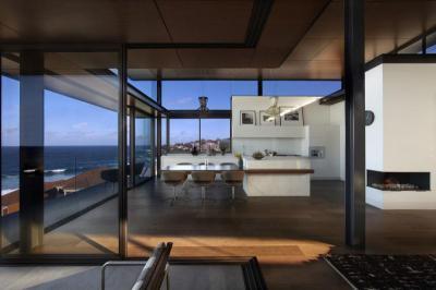 Tágas lakótér - nappali ötlet, modern stílusban