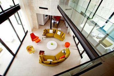 Nappali felülről - nappali ötlet, modern stílusban
