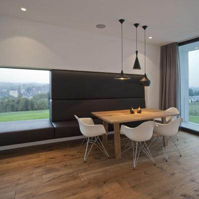 Design bútorok a nappaliban - nappali ötlet, modern stílusban