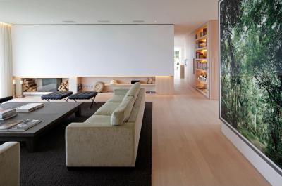 Tágas modern nappali - nappali ötlet, modern stílusban