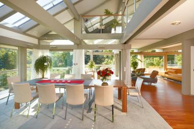 Tágas terek - nappali ötlet, modern stílusban