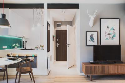 Retró és modern - nappali ötlet