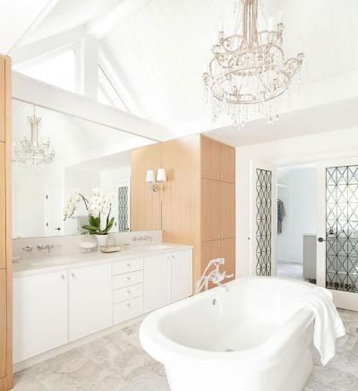 Modern és klasszikus fürdőszoba - fürdő / WC ötlet