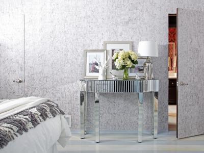 Tükörborítású konzolasztal - háló ötlet, modern stílusban