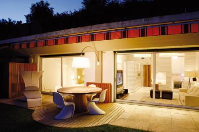 Este a teraszon - erkély / terasz ötlet, modern stílusban