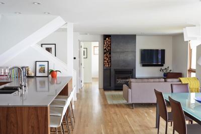 Konyha nappalival - konyha / étkező ötlet, modern stílusban