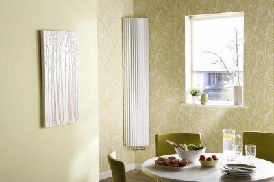 Sarokba illeszthető, álló-radiátor - konyha / étkező ötlet, modern stílusban