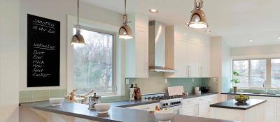 Infra fűtés a konyhában - konyha / étkező ötlet, modern stílusban