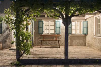 Mediterrán terasz lugassal - erkély / terasz ötlet, mediterrán stílusban
