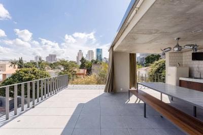 Tetőterasz - erkély / terasz ötlet, modern stílusban
