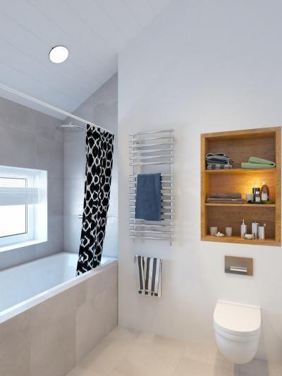 115555cbb6a7 Ötletes fürdőszoba polc - fürdő / WC ötlet, modern stílusban