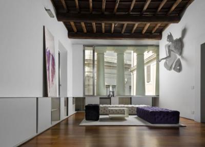 Egyedi faldekor - nappali ötlet, modern stílusban