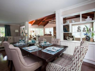 Modern-rusztikus étkező - konyha / étkező ötlet, modern stílusban