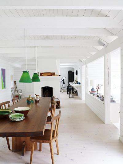 Skandináv étkező - konyha / étkező ötlet, modern stílusban