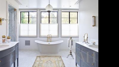 Klasszikus elegáns - fürdő / WC ötlet