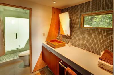 Minimál fürdő - fürdő / WC ötlet, minimál stílusban