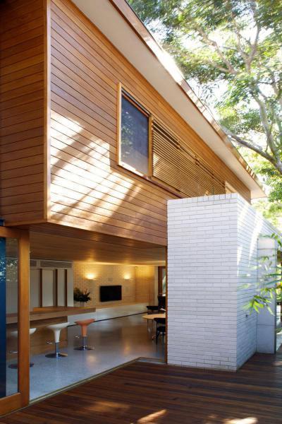 Teraszra nyíló konyha - erkély / terasz ötlet, modern stílusban