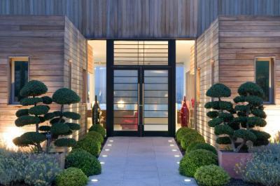 Hangulatos bejárat - bejárat ötlet, modern stílusban