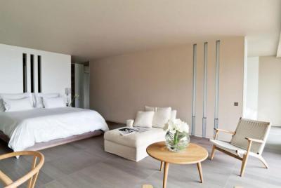 Egyszerű és elegáns hálószoba - háló ötlet, modern stílusban