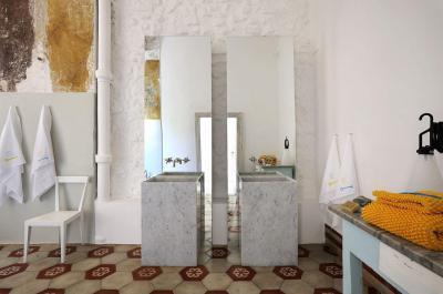 Eklektikus fürdőszoba - fürdő / WC ötlet