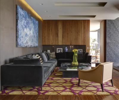 Modern és elegáns nappali - nappali ötlet, modern stílusban