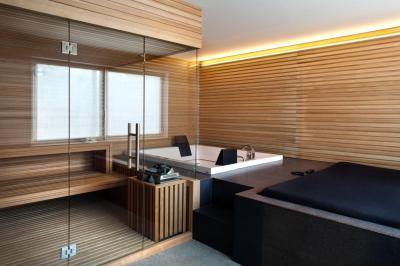 Otthoni wellness - belső továbbiak ötlet, modern stílusban