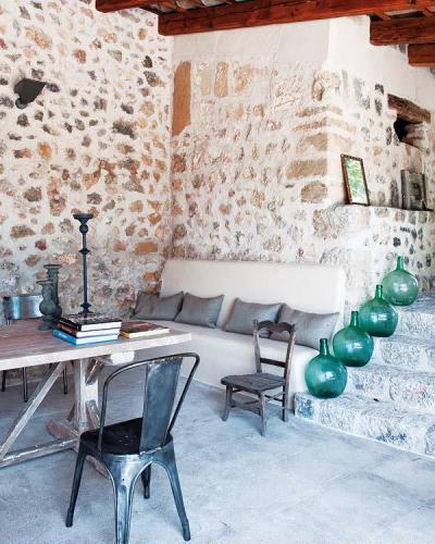 Mediterrán ház - konyha / étkező ötlet, mediterrán stílusban