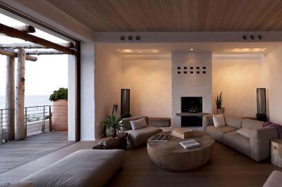 Nappali terasszal - nappali ötlet, modern stílusban