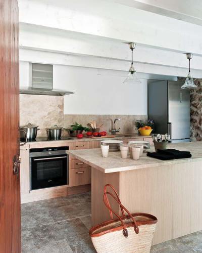 Mediterrán konyha - konyha / étkező ötlet, mediterrán stílusban