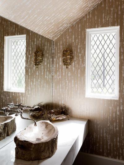 Látványos mosdó - fürdő / WC ötlet