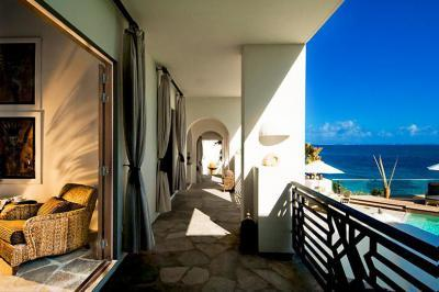 Tengerparti erkély - erkély / terasz ötlet, egzotikus stílusban