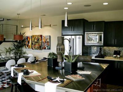 Engedd be a fényt - konyha / étkező ötlet, modern stílusban