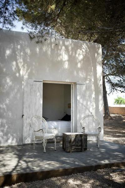 Mediterrán ház terasza - erkély / terasz ötlet
