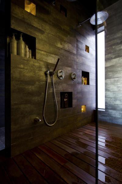 Látszóbeton a fürdőben - fürdő / WC ötlet, minimál stílusban