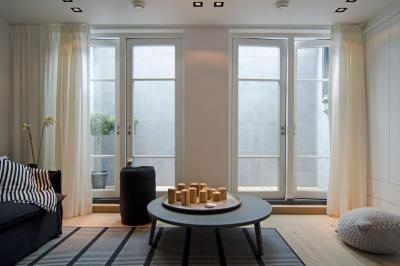 Dekoratív részletek - nappali ötlet, modern stílusban