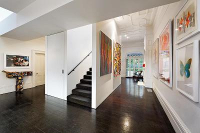Festmények a falon - belső továbbiak ötlet, modern stílusban