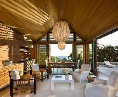 Teraszra nyíló nappali - nappali ötlet, modern stílusban